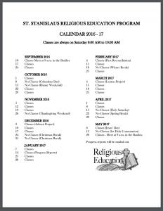 Calendar (CCD)